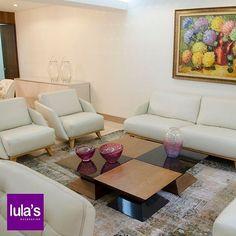 ¿Quieres que tu sala tenga un aspecto moderno? En ese caso ha llegado el momento de dejar atrás ese estilo decorativo anticuado y viejo para dejar la puerta abierta a un nuevo concepto lleno de modernidad y frescura. Todo con el toque exclusivo de #Lulas ¡Visítanos! Estamos ubicados en la transversal 6 # 45 -79 Patio Bonito, Medellín, Tel: 2684641.  #interiordesign #home #style #decor #decoración #espacios #ambientes #decohogar #muebles #mobiliario #decoracioninteriores #comedor #sillas…