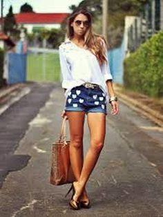 Feitiços da moda: O Short Jeans!!!!!