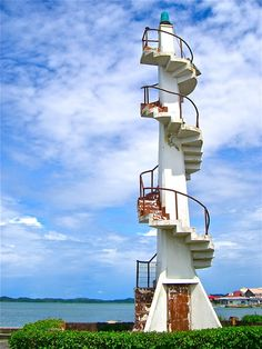 Alaminos City, Hundred Islands lighthouse, Pangasinan, Philippines