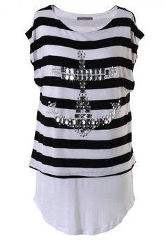 Anchor Stripe T-shirt