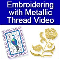 All sorts of free videos/tutorials on machine embroidery - free projects - free tips and techniques - excellent designs: http://www.emblibrary.com/el/elprojects/holder.aspx?page=videos