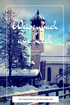 "Weißenbach gehörte seit alters her zur Großpfarre ""Aschau"". #naturparkregionreutte #reutte #winter #orte #places Winter, Interesting Facts, Places, Winter Time, Winter Fashion"