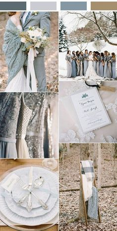 shades of grey and blue winter wedding color ideas shades of grey and blue wint. shades of grey and blue winter wedding color ideas shades of grey and blue winter wedding color ideas. Grey Winter Wedding, Winter Wonderland Wedding, Blue Wedding, Trendy Wedding, Fall Wedding, Dream Wedding, Winter Blue, Winter Themed Wedding, Diy Wedding