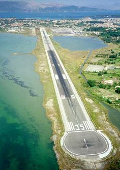 Corfu International Airport or Ioannis Kapodistrias (Capodistrias) International Airport (CFU), Greece