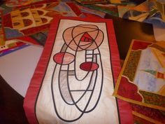 gail lawther stained glass patchwork - Google Search