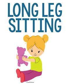 Long Leg Sitting - Copyright ToolsToGrowOT.com