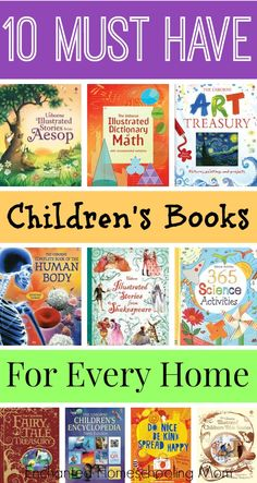 Is your home library of children's literature complete? Come see the top 10 must have children's books today!