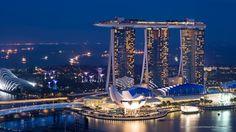 Marina Bay Sands and Science Museum, Singapore #SunKuWriter #Portugal  FREE Books ► http://Sun-Ku.com ◄