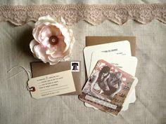 Wedding Invitation Design Inspiration - Rachel and Alex