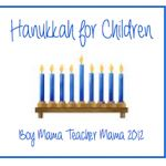 Boy Mama: Hanukkah for Children - I think it's important for kids to know a little about Chanukah if they celebrate Christmas and Christmas if they celebrate Chanukah.