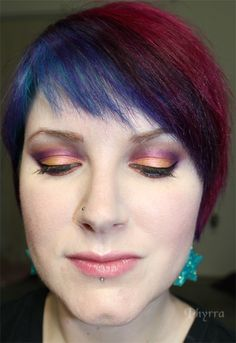 OCC, Sugarpill & Silk Naturals tutorial. Click through to see more!
