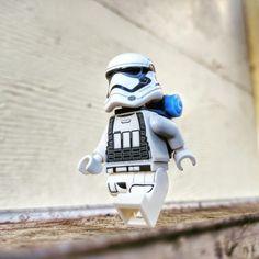 """Hiker Trooper"" by bricksandplates Lego Photography, Various Artists, Skateboard, Lego Figures, Instagram Posts, Skateboarding, Skate Board, Skateboards"