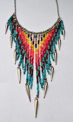 Beaded south-west style