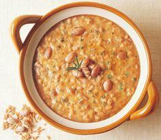 Zuppa di fagioli e farro - Cucina Naturale
