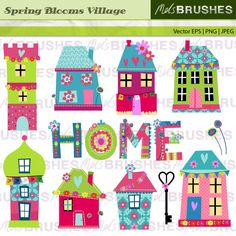 Spring Blooms Village