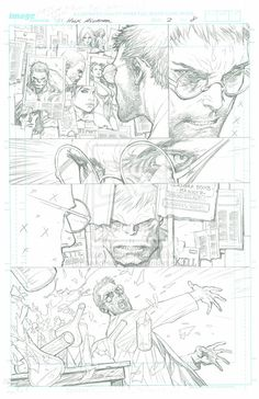 The Incredible Hulk - Issue 2 Page 8 PENCILS by *LeadHeavy on deviantART