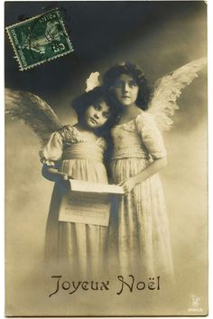 Postcard angel