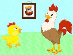 Hermann Marika: Egy kosár húsvéti tojás Projects For Kids, Rooster, Marvel, Animals, Decor, Kids Service Projects, Animales, Decoration, Animaux