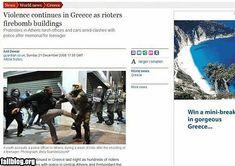Greece vacation ad fail