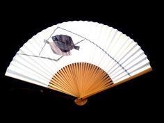 Fish Japanese Hand Fan Vintage Paper Ogi Sensu by VintageFromJapan Hand Held Fan, Hand Fans, Vintage Paper, Vintage Items, Chinese Fans, Symbols Of Freedom, Love Energy, Kokeshi Dolls, Vintage Japanese