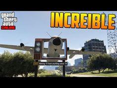 """¡¡INCREIBLE!! NUEVO MODO DE JUEGO """"CARRERA ACROBÁTICA""""!! - Gameplay GTA V Online PS4 - YouTube"""