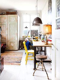 home office \ work space Interior Exterior, Home Interior, Modern Interior, Casa Hipster, Rustic Home Offices, Rustic Office, Country Office, Sweet Home, Scandinavian Home