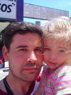 Junto a la reina de mi corazón mi hija