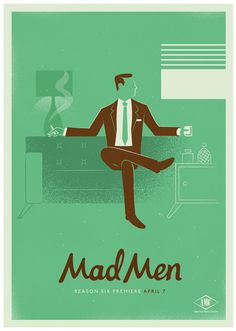 nuevo poster de mad men - Buscar con Google