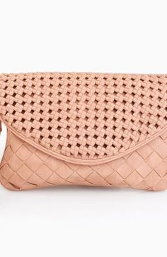 Double Woven Clutch