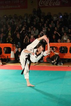 Chloe Bruce can stretch.