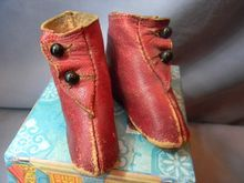 Red Boots for Fashion Doll