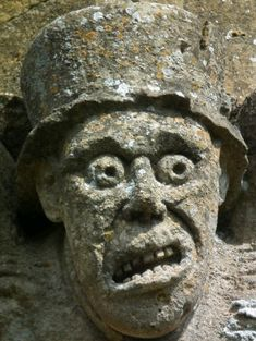 Winchcombe - a hatted gargoyle
