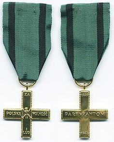 The Partisan Cross like that awarded to Maria Malandri of Rhodes