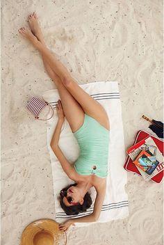 mint. sand. sunhat. nap. magazine.
