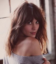 lob haircut with bangs - Google Search