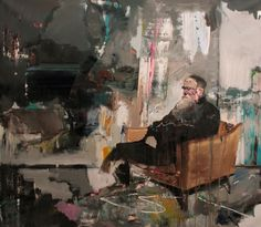 Adrian Ghenie, 'Self-portrait as Charles Darwin' (2011)
