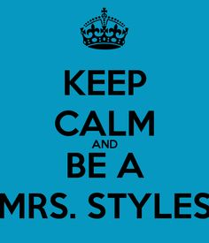 Be a Mrs. Styles