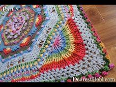 Garden Romp 2017 Crochet Along Part 8 - YouTube