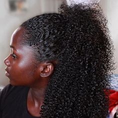Tips for black women to finally grow their natural hair. #hairgrowth #blackwomen