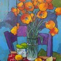 Todavía vida con las secciones de una silla.  Angus Wilson - Nació en Escocia, vive en EEUU
