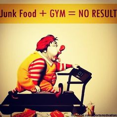 """Well there's some motivation... I don't eat """"fast food"""" but there are some things I could change!"""