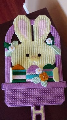 This cute Easter wall hanging is great for your front door or wall.  It is for sale in my Etsy shop for $8.00 plus shipping.