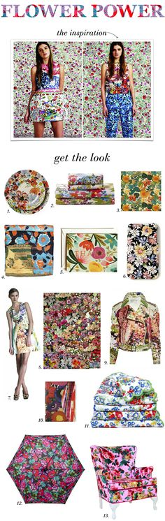 So Haute_Flower Power_Get the Look showing the shoppe some love!