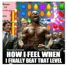 Friggin candy crush... they need to update their cellphone app ASAP... I am out of levels to play