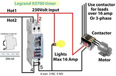 Legrand 03700 Timer Wiring Timer Wiring Diagram Wire