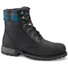 e2c747bfc231a7 CAT Footwear Kenzie Women s Size 7M Black Steel Toe Work Boots