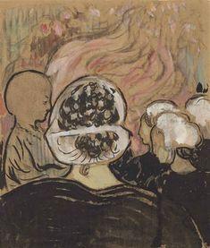 Maurice Denis, Bretonnes à La Clarté ou Bretonnes devant le feu de joie de La Clarté