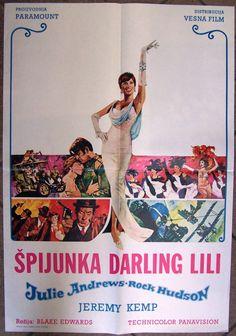 Blake Edwards, Julie Andrews, Peplum Dress, Lily, Movie Posters, Fashion, Moda, Film Poster, La Mode
