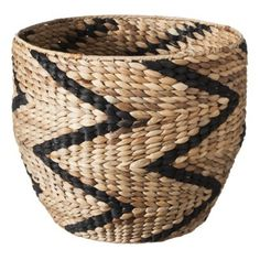 Nate Berkus™ Chevron Pattern Storage Basket - 14""