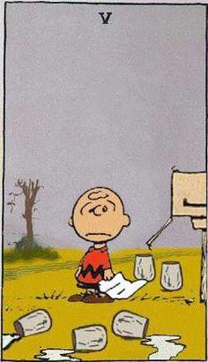 Peanuts Tarot. Just too stinkin' cute.